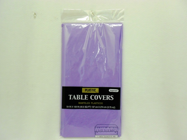 "S2847: Purple Extra Heavy Duty Table Cover 54""x108"""