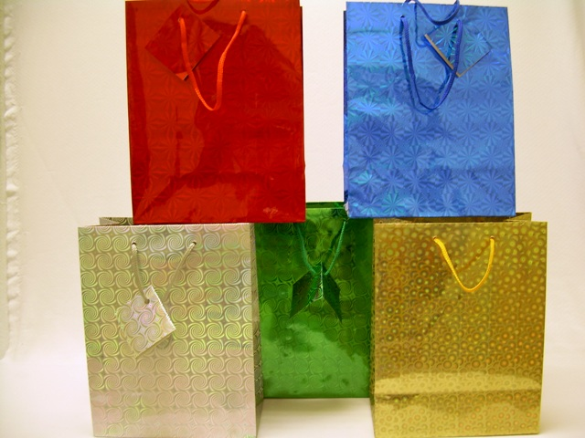 S1921-A: Medium Hologram Gift Bag