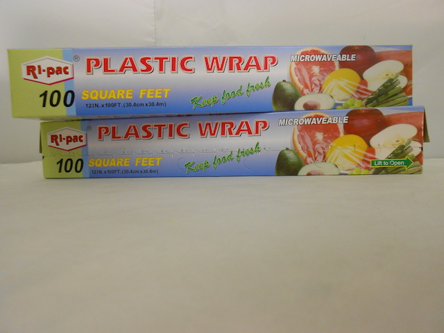 D28610: 100 SQ.FT Plastic Wrap
