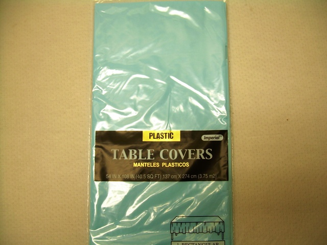 S2841: Light Blue Extra Heavy Duty Table Cover