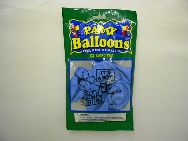 "NL5380: 8Pk ""It's a Boy"" Printed Balloons"