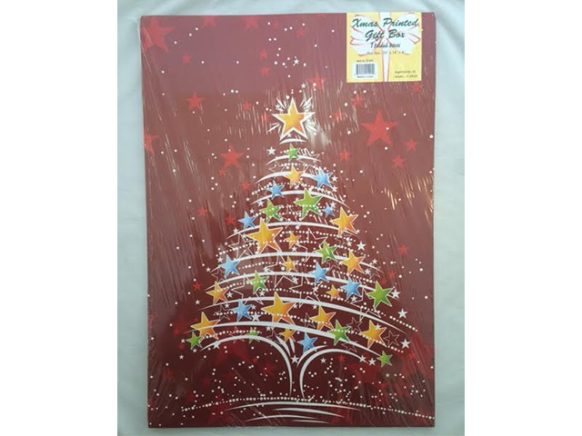 S1495: 1Pk Assorted Christmas Gift Boxes