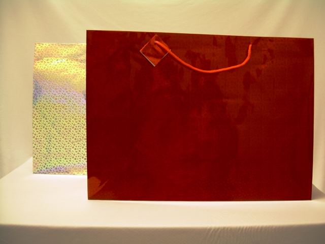 S1924: Horizontal Giant Hologram Gift Bag