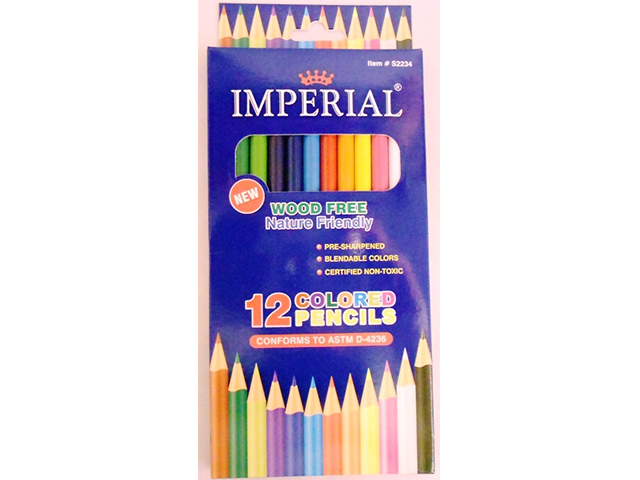 S2234: 12Pk Color Pencils