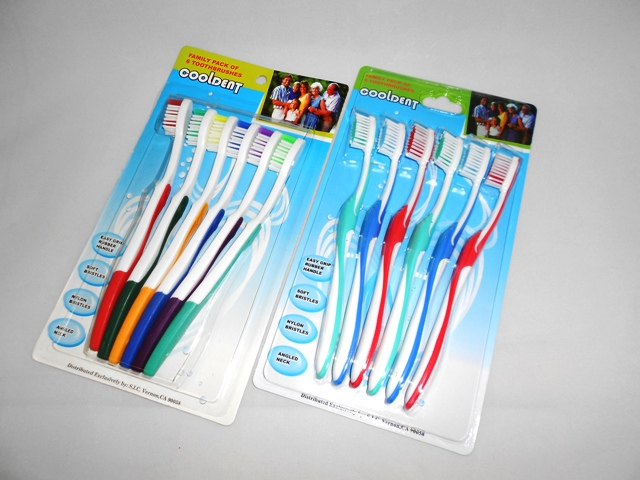 S3902: 6pk Assorted Toothbrush
