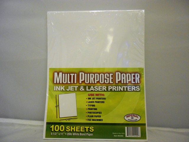 S4402: 100 Sheet Multipurpose Paper