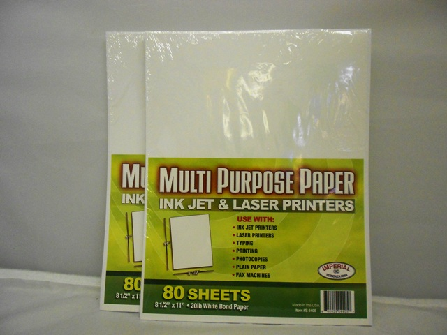 S4405: 80 Sheet Multipurpose Paper
