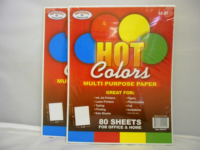S4414: 80 Sheet Multipurpose Color Paper