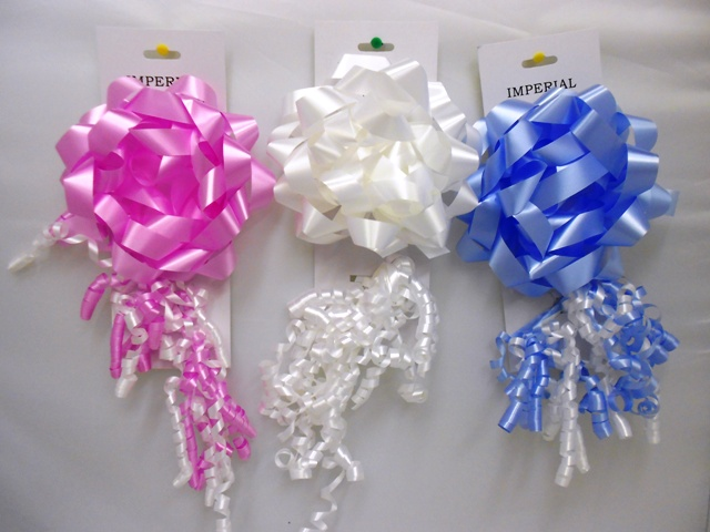 S7460: 2Pk Bow & Curly Bow Daily Colors