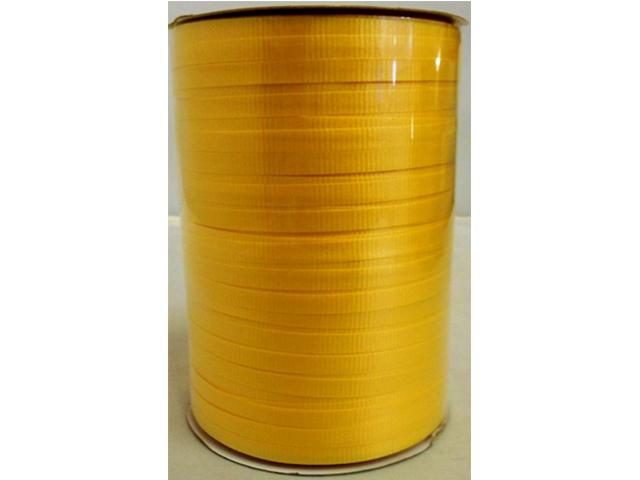 S7473: Yellow Curly Ribbons 100 Yard Spool